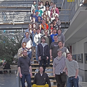 The ilab participants in summer term 2015.