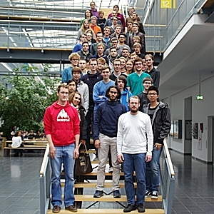 The ilab participants in winter term 2015.